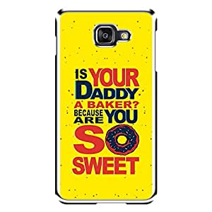 "MOBO MONKEY Designer Printed 2D Transparent Hard Back Case Cover for ""Samsung Galaxy A7 (2016)"" - Premium Quality Ultra Slim & Tough Protective Mobile Phone Case & Cover"