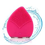 Beatuy Nymph Facial Cleansing Brush, Electric Waterproof Silicone Face Massager Anti-Aging Sonic Facial Cleanser and Deep Exfoliator Makeup Tool for Facial Polish and Scrub