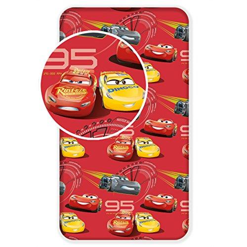 Jerry Fabrics 226139 Sábanas Ajustables para Niños, Algodón, Multicolour, 200x90x25 cm