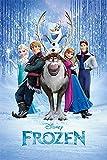 Disney Gefroren 'Cast' Maxi Poster,61 x 91.5 cm