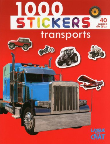 1000 stickers transports