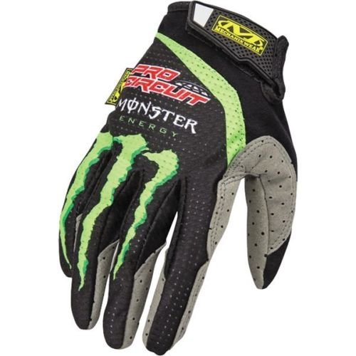 Pro Circuit Mechanix Monster Energy Motocross Handschuhe Crosshandschuhe Quad Offroad Enduro ATV Fahrrad Mountainbike Downhill S M L XL XXL...