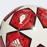 adidas Finale M CPT - Balon de fútbol, Off White/Power Solar Active Red/Black, 5