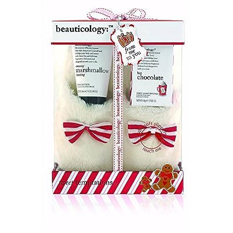 Baylis & Harding Beauticology Gingerbread Assorted Slipper Gift Set