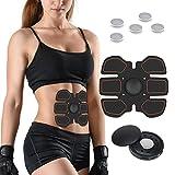 Elettrostimolatore Addominali, Fascia Addominale Dimagrante Stimolatore Muscolare Per Donna / Uomo Training Perdita Di Peso Fitness
