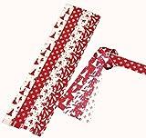 Flechtstreifen Fröbelsterne - Papierstreifen 48 Streifen 15 mm breit 331520 Engel Einhorn Weihnachten Basteln Advent Fröbelsterne