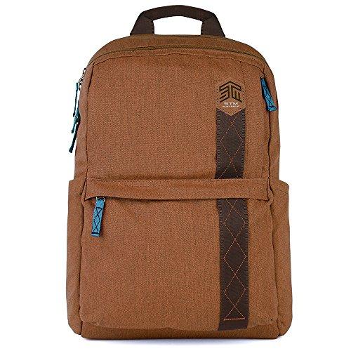 STM Banks Rucksack für Laptop & Tablet bis 38,1cm Desert Brown Einheitsgröße