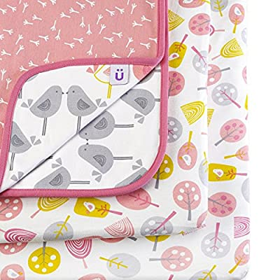 Snuz Crib Bedding Set - Little Tweets Bird Print (Fits SnuzPod and Chicco Next2Me) - inexpensive UK light store.