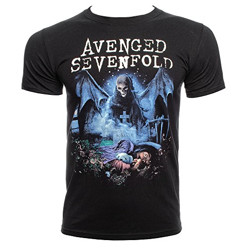 T Shirt Avenged Sevenfold Recurring Nightmare (Nero) - Large