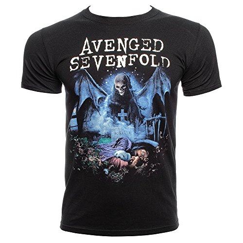 T Shirt Avenged Sevenfold Recurring Nightmare (Nero) - Medium