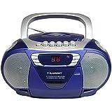 Blaupunkt B 11 RD/CD portátil MP3-Radio con reproductor de casetes (LCD-Display, luz trasera, 2 x 1 vatio, FM/AM-Tuner) (importado)