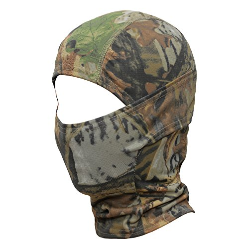 WTACTFUL Camouflage Cover Balaclava Hood Ninja Outdoor Cycling Motorcycle Hiking Climbing Hunting Helmet liner Gear Full Face Mask for Summer Sports SC-02