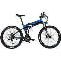 LANKELEISI XT750-26 Plegable Ebike 48 V Suspensión Completa 7 Velocidad de Litio E-