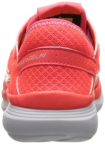 Saucony Women's Kineta Relay Road Running Shoe, Coral/Mint, 10 M US Coral/Mint