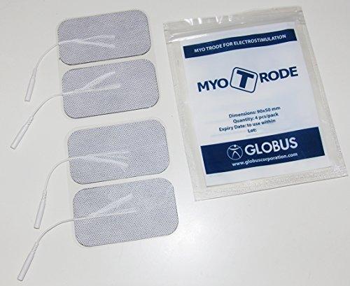 Globus elettrodi Myotrode premium rettangolari