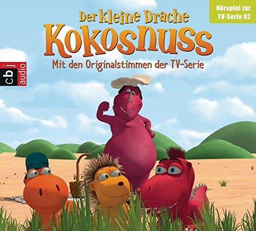 Preisvergleich Produktbild Der Kleine Drache Kokosnuss - Hörspiel zur TV-Serie 02: Picknick mit Adele. Volltreffer. Die Fressfalle. Einmal und nie wieder (Audio-CDs zur TV-Serie, Band 2)