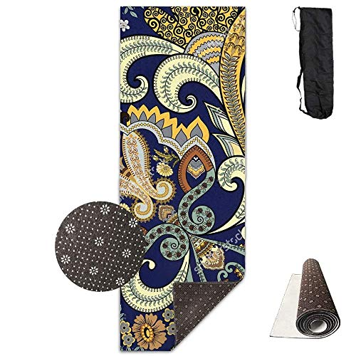 Bag shrot - Esterilla de Yoga Antideslizante, 61 x 180 cm, Correa...