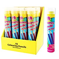 ArtBox Full Size 12 Colouring Pencils And Sharpener (One Size) (Multicoloured)