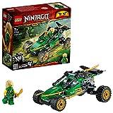LEGO- Fuori Strada della Giungla, Colleziona la Minifigure di Lloyd con Una Spada Ninjago Set di Costruzioni per Bambini +7 Anni, 71700