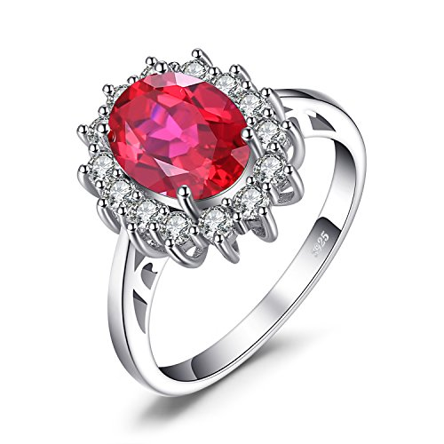 JewelryPalace Anillo Compromiso Princesa Diana William