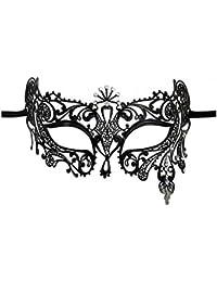 VABNEER Masque Venitien Femme Masque Dentelle Loup Masque Masque Femme Sexy pour Carnaval d'halloween Fête de Noël