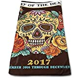 best& Day of The Dead 2017 Multi-Purpose Microfiber Towel Ultra Compact Super Absorbent and Fast Drying Sports Towel Travel Towel Beach Towel Perfect for Camping, Gym, Swimming.
