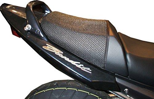 Suzuki GSF650BANDIT (2005–2012) triboseat sillín pasajero antideslizante Negro