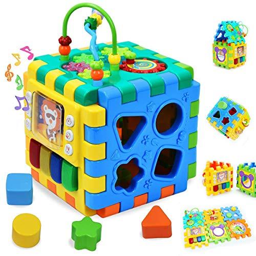 Wishtime Cube d'Activités Ludiques Jouet Educatif Early...