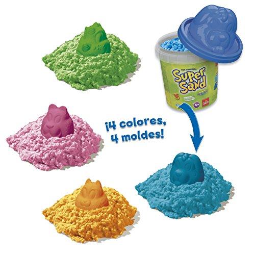 Goliath Games Arena Super Sand - Botes de Animales, Colores Surtidos, 1 Unidad 83268