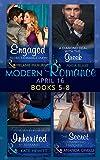 Modern Romance April 2016: Books 5-8