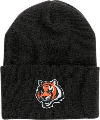 Cincinnati Bengals Nero-Cappello NFL-Cappellino con risvolto ae146ca68dbb