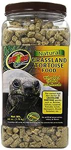 Zoo Med Grassland Tortoise Natural Fiber Food 1.7kg