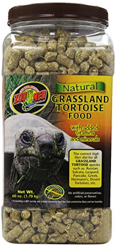 Zoo Med Grassland Tortoise Natural Fiber Food 1.7kg 1