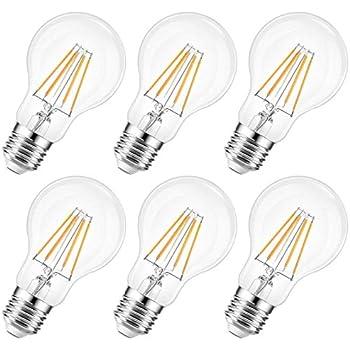lexman – 282493 – – Juego de 6 bombillas LED – E27 ...