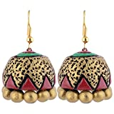 Scorched Earth Mili Terracotta Jhumkas S...
