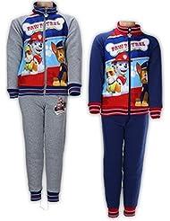Ensemble jogging PAT PATROUILLE / PAW PATROL (veste + pantalon) * 100% polyester * Nickelodeon * NEUF model aléatoire * De 2 a 6 ans *