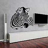 jiushizq Adesivo De Parede Art Decor Hochwertige Zebra