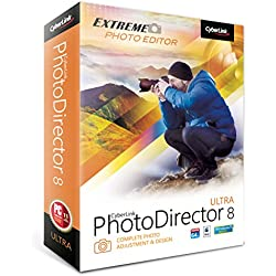 CyberLink PhotoDirector 8 Ultra - Complete Photo Adjustment and Design (PC/Mac)