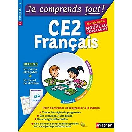Je comprends tout - Français CE2 - Nouveau programme 2016