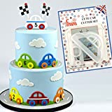 FMM CUTE CAR Cutter Set Cake Icing Decoration Decorating Sugarcraft Cutting Tool