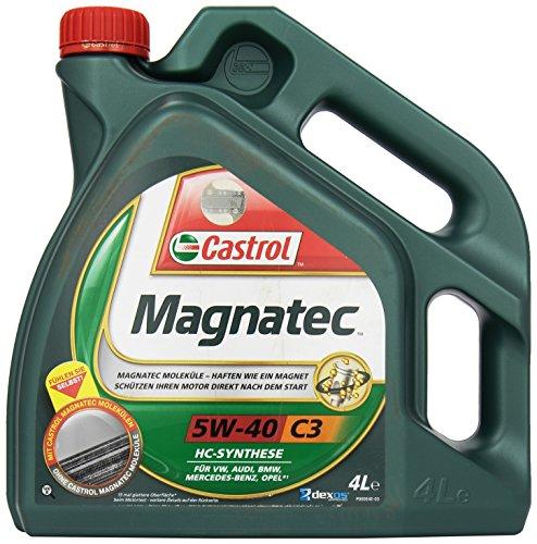Castrol Magnatec 58.684 Olio motore SAE 5W-40 C3, 4 lit