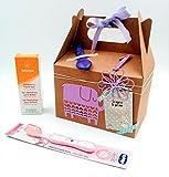 Set di Prodotti Weleda BIO 'Birthday Box for HER' | Regalo per Bimbi di 1 anno e 2 anni | Perfetto per Compleanni | Personalizzalo con il Nome e con gli Anni che compie il Bimbo! | Birthday Gift Idea for Kids | Versie Rosa per Femminucce