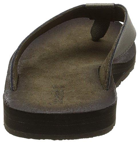 Timberland Wild Dunes Lthr Flipflopbrindle Madras Enhanced Leather, Sandales Bout Ouvert Homme Gris (Brindle Madras Enhanced Leather)