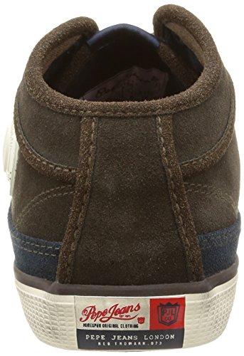 Pepe Jeans - Industry Half, Sneaker Uomo Marrone (Braun (BROWN 878))