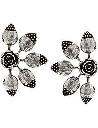 13a48f05d5 Oxidised Silver Women's Earrings: Buy Oxidised Silver Women's ...