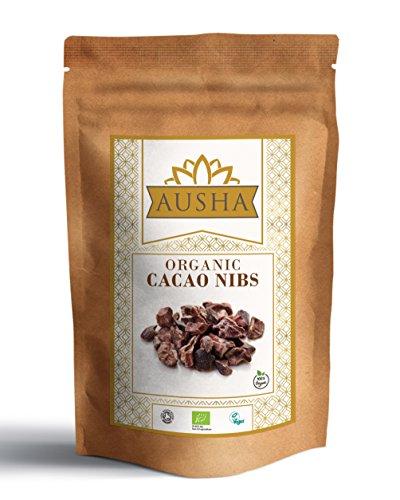 Ausha Organic Raw Cacao Nibs 300g (Premium Quality)