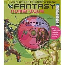 Fantasy numérique : Créez vos personnages d'Heroic Fantasy sur ordinateur (1Cédérom)