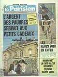 PARISIEN (LE) [No 14495] du 13/04/1991 - L'ARGENT DES PAUVRES SERVAIT AUX PETITS CADEAUX - ALAIN DEVAQUET ET ANNICK TISSOT ET UNE AFFAIRE DE CAISSE NOIRE - CYCLISME - LES HEROS VONT EN ENFER - MONACO ET LA COTE D'AZUR MENACES PAR UN MAREE NOIRE