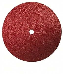 Bosch 2609256B50 Disques abrasifs papier pour Ponceuses à serrer trou central Diamètre 125 Grain 80 Lot de 5 feuilles