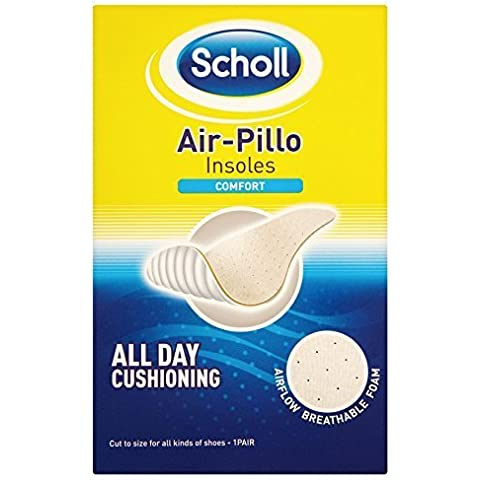6 x Scholl Air-Pillo Insoles Comfort 1 Pair by Scholl